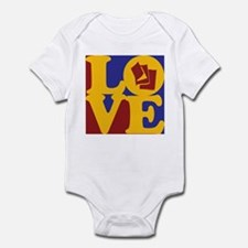 Reading Love Infant Bodysuit