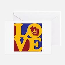 Reading Love Greeting Card