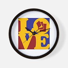 Reading Love Wall Clock