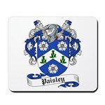 Paisley Family Crest Mousepad