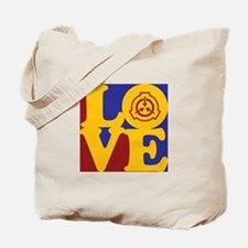 Radiation Therapy Love Tote Bag