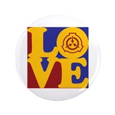 "Radiation Therapy Love 3.5"" Button"