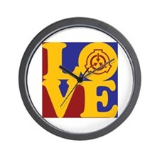 Radiation Therapy Love Wall Clock