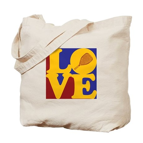 Racquetball Love Tote Bag