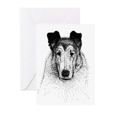 Smooth Collie Greeting Cards (Pk of 10)