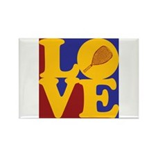 Racquetball Love Rectangle Magnet