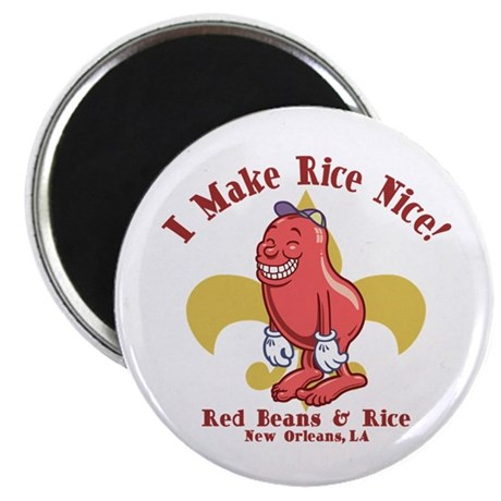 "Red Beans & Rice 2.25"" Magnet (100 pack)"