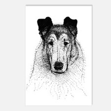 Smooth Collie Postcards (Package of 8)