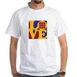 Quilts Love White T-Shirt