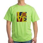 Quilts Love Green T-Shirt