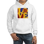 Quilts Love Hooded Sweatshirt