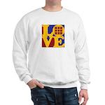 Quilts Love Sweatshirt