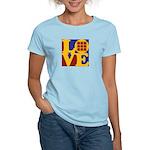 Quilts Love Women's Light T-Shirt