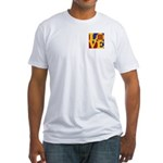 Quilts Love Fitted T-Shirt