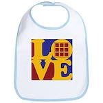 Quilts Love Bib
