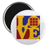 Quilts Love Magnet