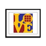 Quilts Love Framed Panel Print