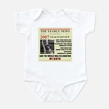 born in 2007 birthday gift Infant Bodysuit