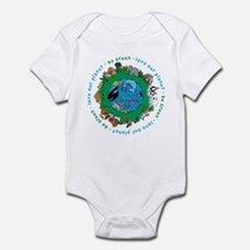 Be Green Love our planet Infant Bodysuit