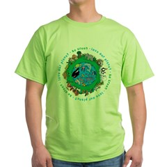Be Green Love our planet T-Shirt