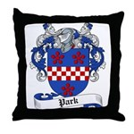 Park Family Crest Throw Pillow
