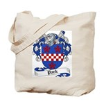 Park Family Crest Tote Bag
