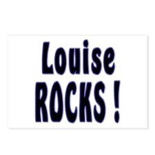 Louise Rocks ! Postcards (Package of 8)