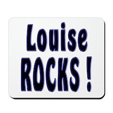 Louise Rocks ! Mousepad