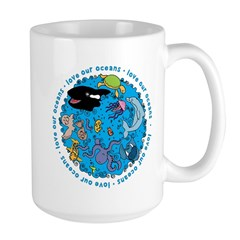 LOVE our Oceans Large Mug