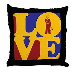 Professoring Love Throw Pillow