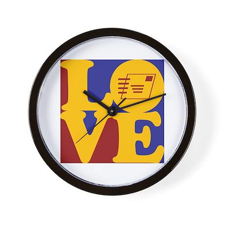 Postal Service Love Wall Clock