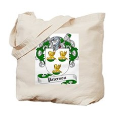 Paterson Family Crest Tote Bag
