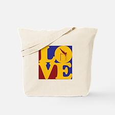Pole Vaulting Love Tote Bag