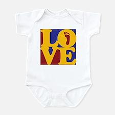 Podiatry Love Infant Bodysuit