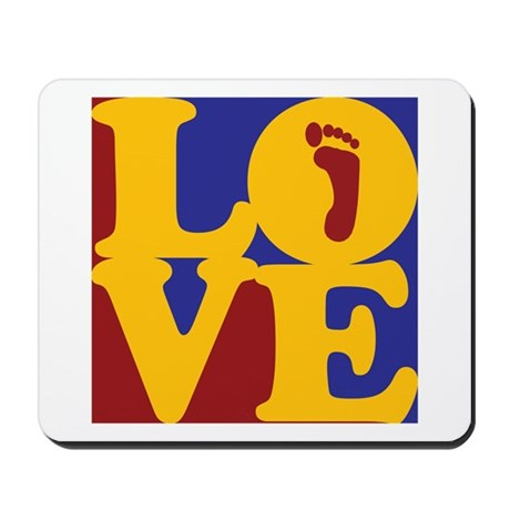 Podiatry Love Mousepad