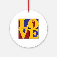 Podiatry Love Ornament (Round)
