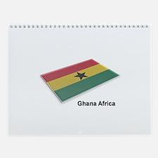 Ghana Wall Calendar