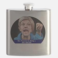 Elizabeth warren Flask