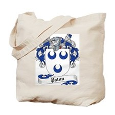 Paton Family Crest Tote Bag