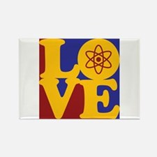 Physics Love Rectangle Magnet