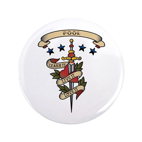 "Love Pool 3.5"" Button"
