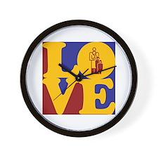 Pediatrics Love Wall Clock