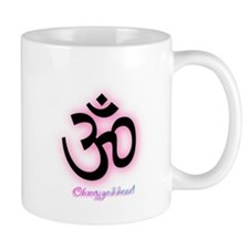 ohmygoddess symbol pink Mugs