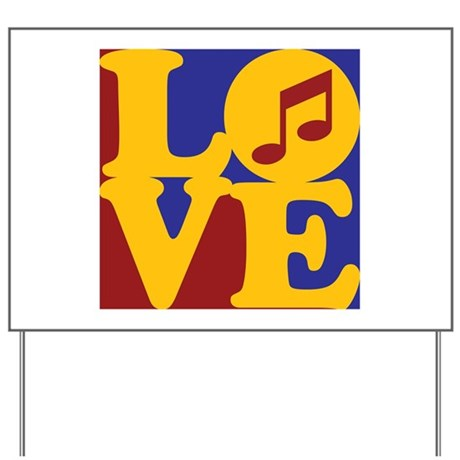 Orchestra Love Yard Sign