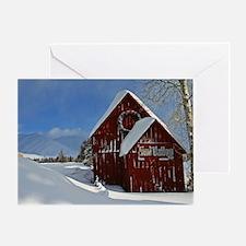 Sun Valley Barn Greeting Card