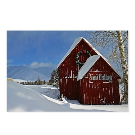 Sun Valley Barn Postcards (Package of 8)