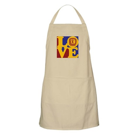 Occupational Therapy Love BBQ Apron