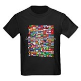 Olympic Kids T-shirts (Dark)