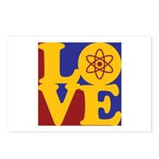Nuclear Engineering Love Postcards (Package of 8)