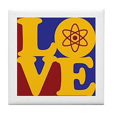 Nuclear Engineering Love Tile Coaster